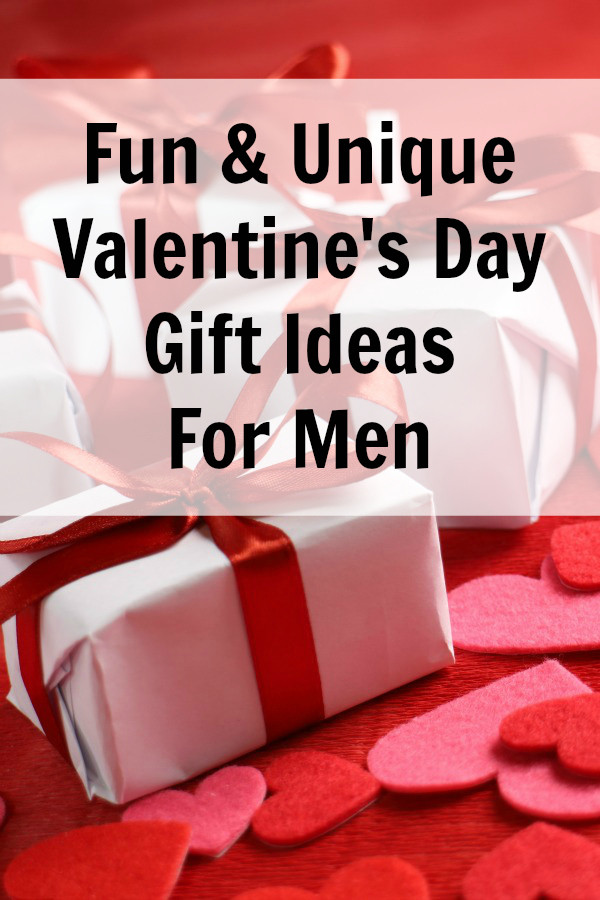 Valentines Day Gift Ideas For Husband  Unique Valentine Gift Ideas for Men Everyday Savvy