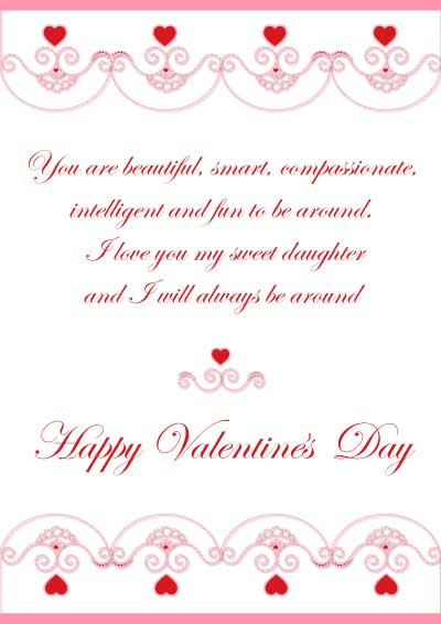 Valentines Day Quotes For Daughters  Valentine Quotes For Daughters QuotesGram