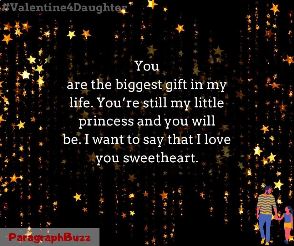 Valentines Day Quotes For Daughters  Valentine's Day Quotes for Daughter from Dad
