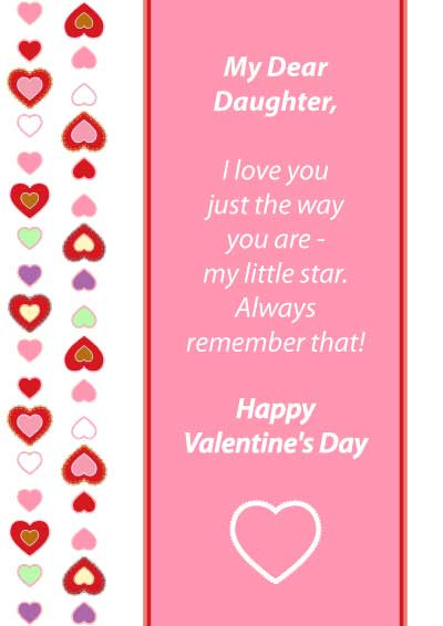 Valentines Day Quotes For Daughters  Daughter Quotes For Valentines Day QuotesGram