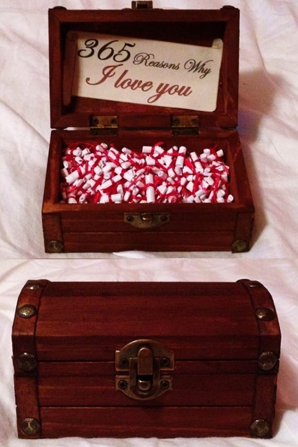Valentines Gift For Him Ideas  35 Homemade Valentine s Day Gift Ideas for Him