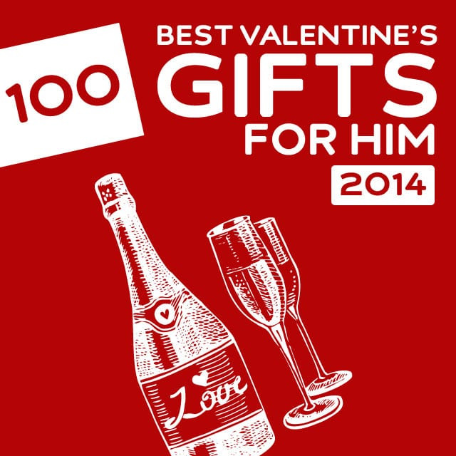 Valentines Gift For Him Ideas  100 Best Valentine's Day Gifts for Him of 2014