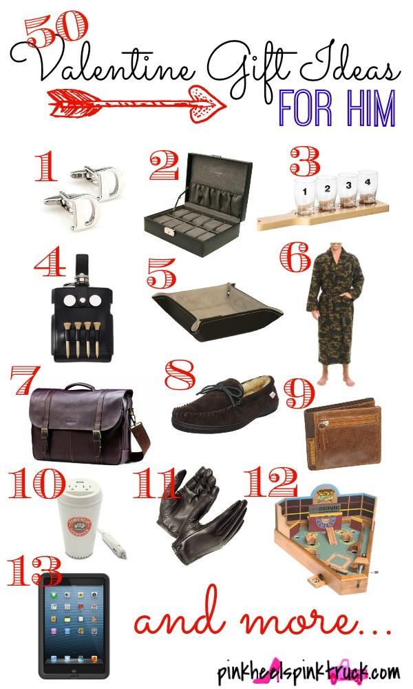Valentines Gift For Him Ideas  50 Valentine Gift Ideas for Him • Taylor Bradford