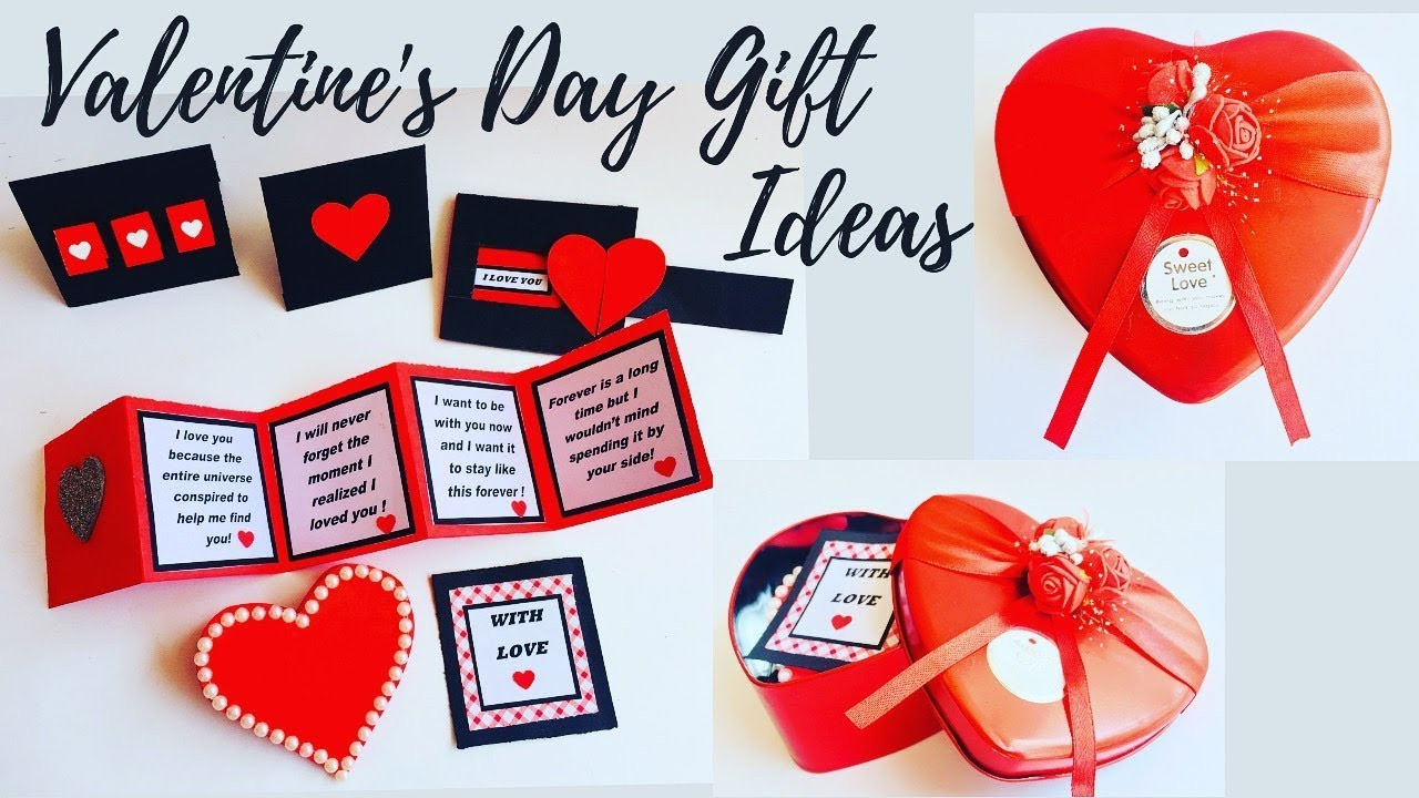 Valentines Gift For Him Ideas  DIY Valentine s Day Gift Ideas