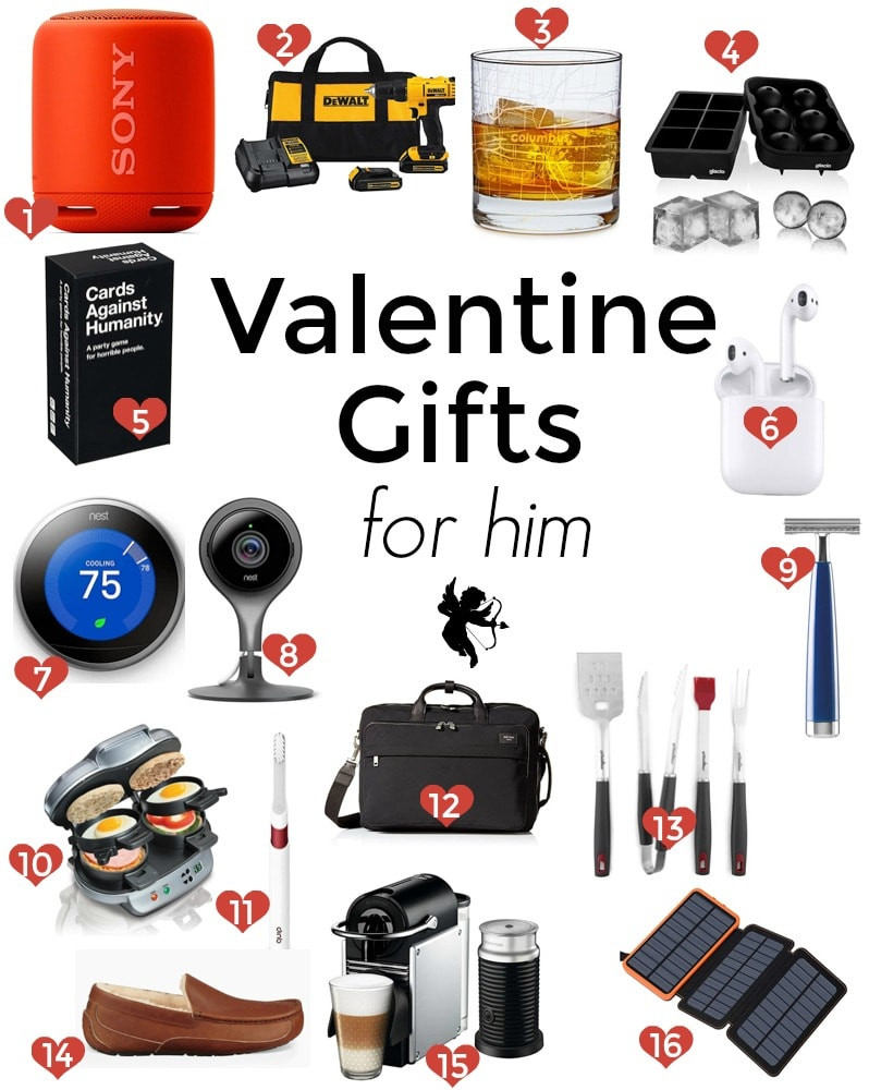 Valentines Gift For Him Ideas  Valentine s Day Gift Ideas for Him and Her Dessert for Two