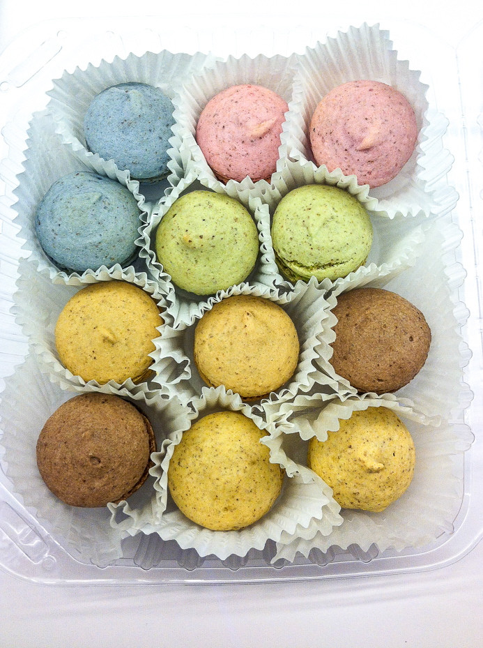 Vegan French Macaroons  Review Vegan French Macaroons from Feel Good Desserts