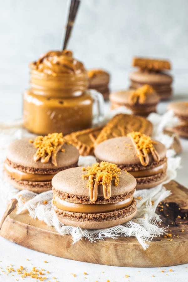 Vegan French Macaroons  Vegan Biscoff Macarons french method plus video Pies