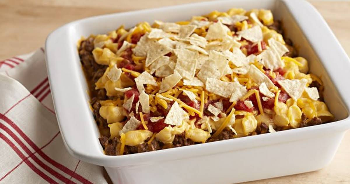 Velveeta Mac And Cheese Recipes With Ground Beef  10 Best Velveeta Shells and Cheese with Ground Beef Recipes