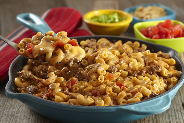 Velveeta Mac And Cheese Recipes With Ground Beef  VELVEETA Taco Mac & Cheese Kraft Recipes