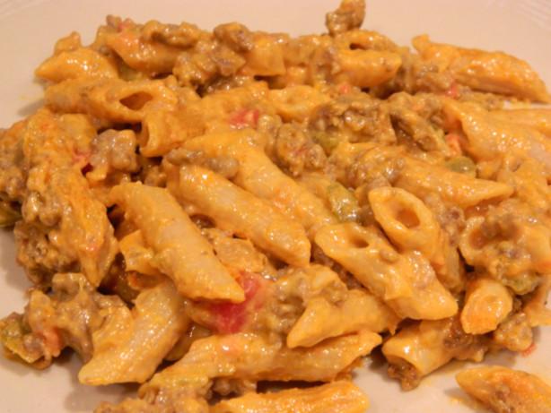Velveeta Mac And Cheese Recipes With Ground Beef  Beefy Salsa Macaroni And Velveeta Cheese Recipe Food