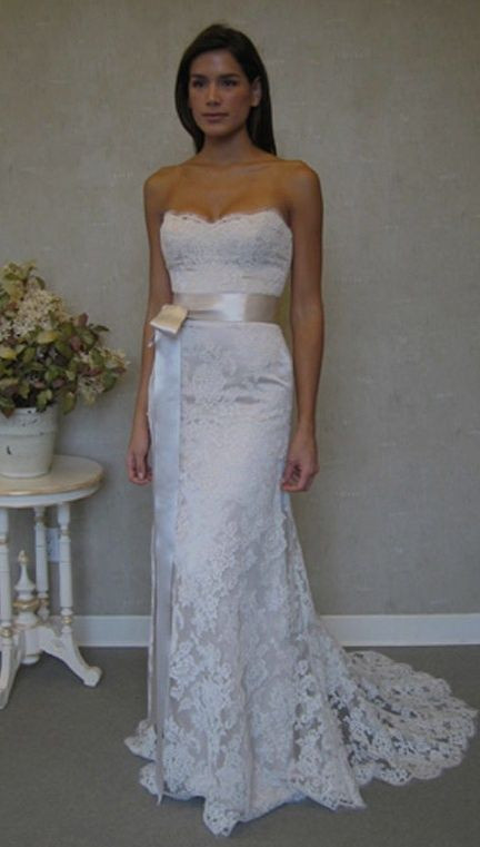 Vow Wedding Dress  February 2014 Dresses for Vow Renewals