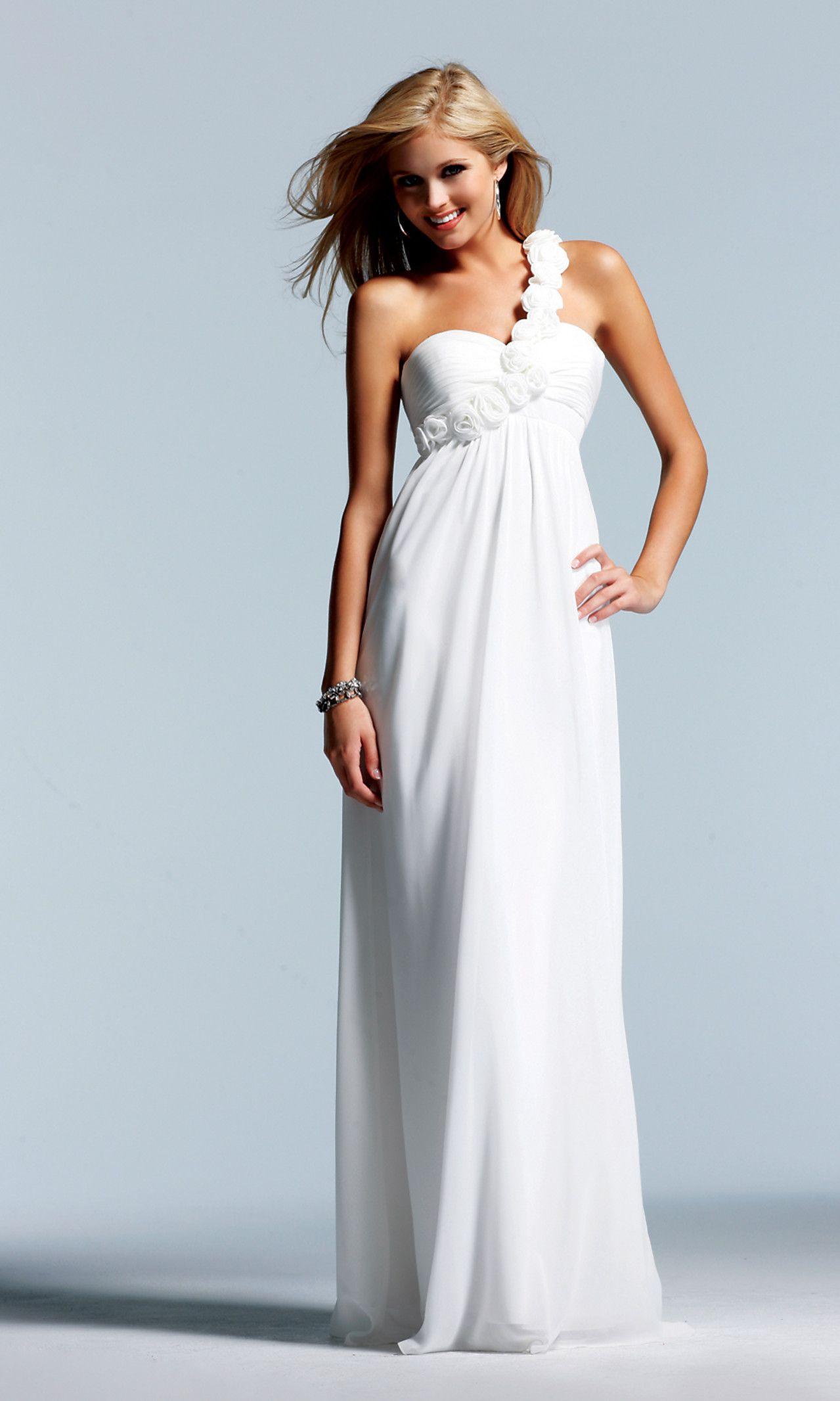 Vow Wedding Dress  Vow renewal dress Weddings Pinterest
