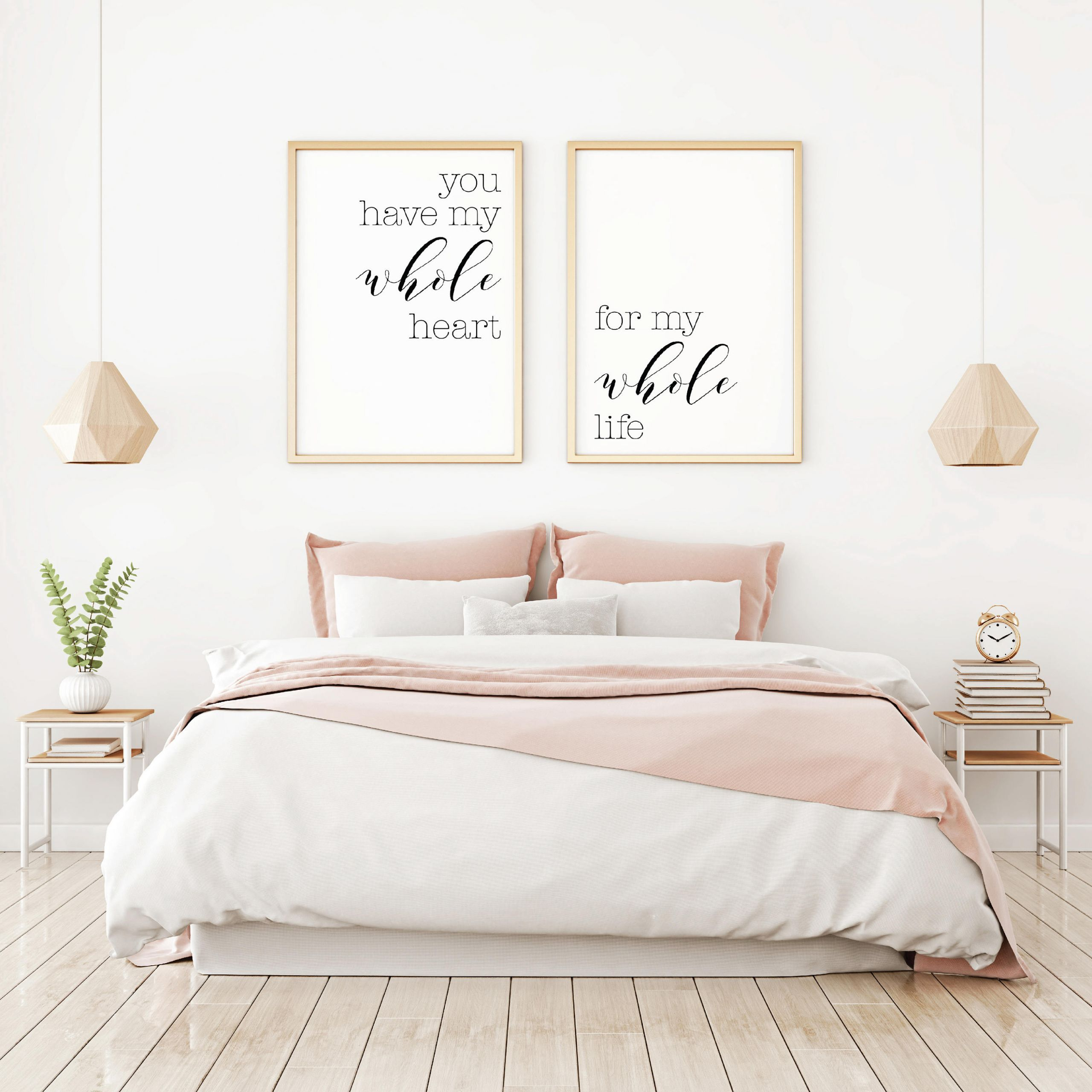 Wall Prints For Bedroom  Bedroom Wall Decor Ideas Home Decor Wall Art Master