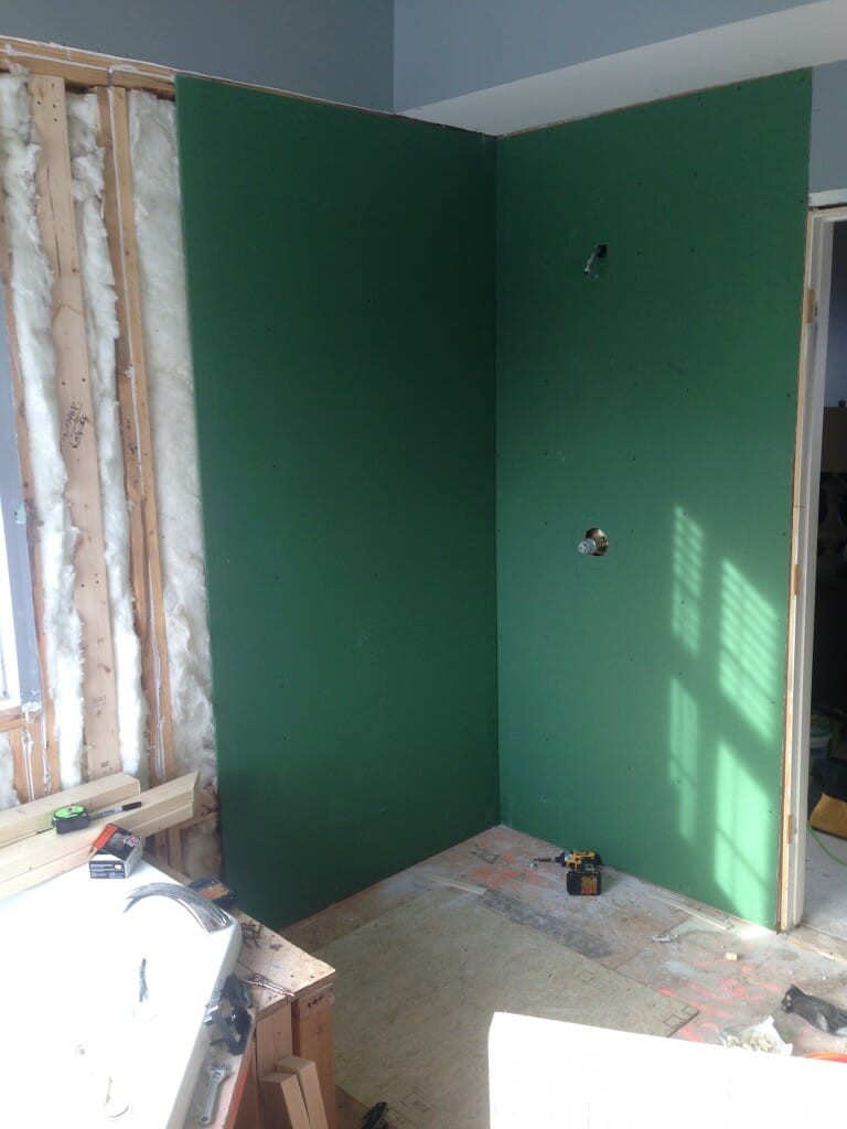 Wallboard For Bathroom  Your Guide to Water Resistant Greenboard Drywall Modernize