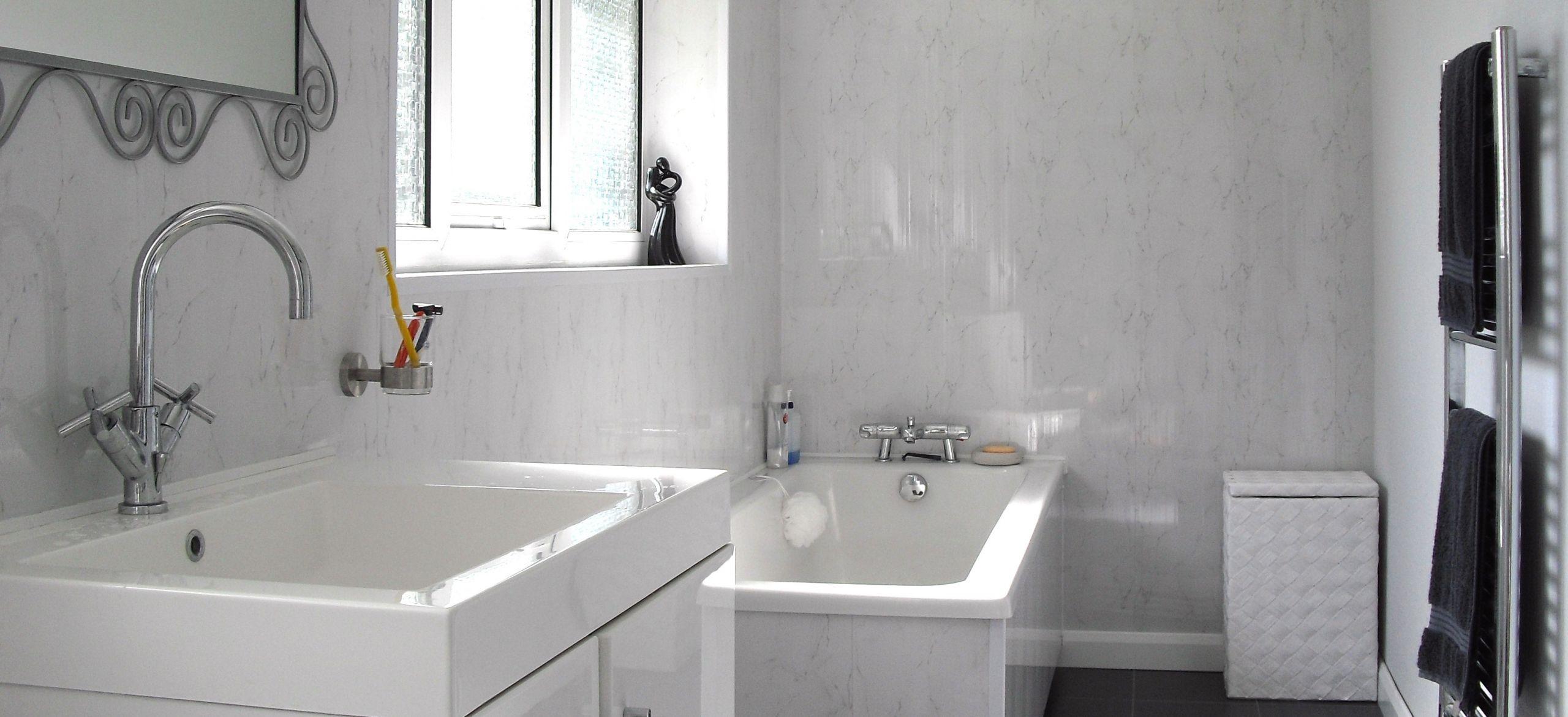 Wallboard For Bathroom  Panels For Bathroom Walls The Bathroom Marquee
