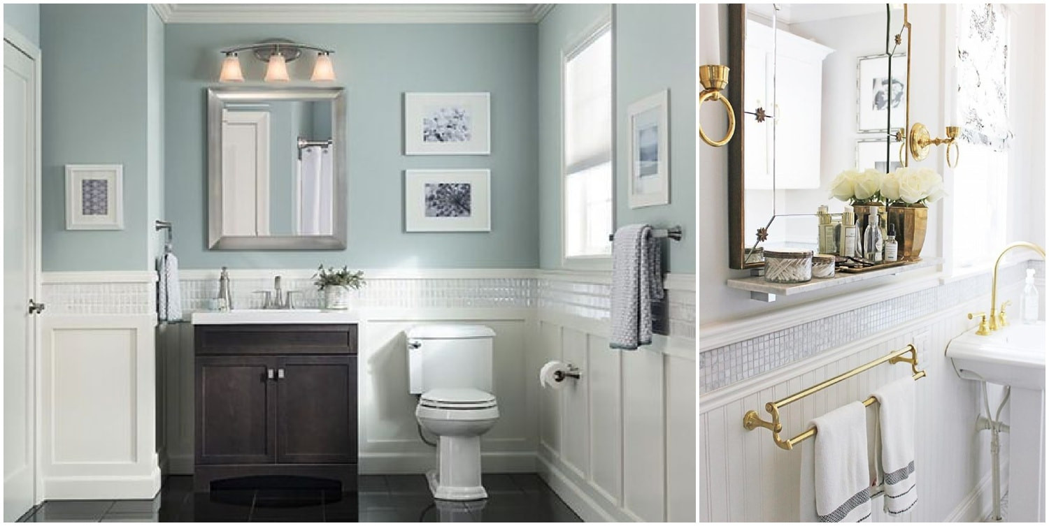 Wallboard For Bathroom  Wall Paneling Ideas For Bathroom Wall Paneling