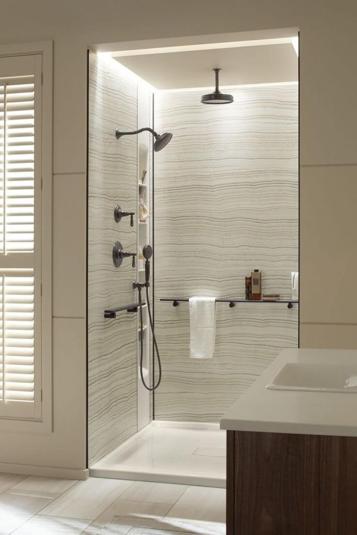 Wallboard For Bathroom  15 Modern Bathroom Wall Panels for Your Home Interior