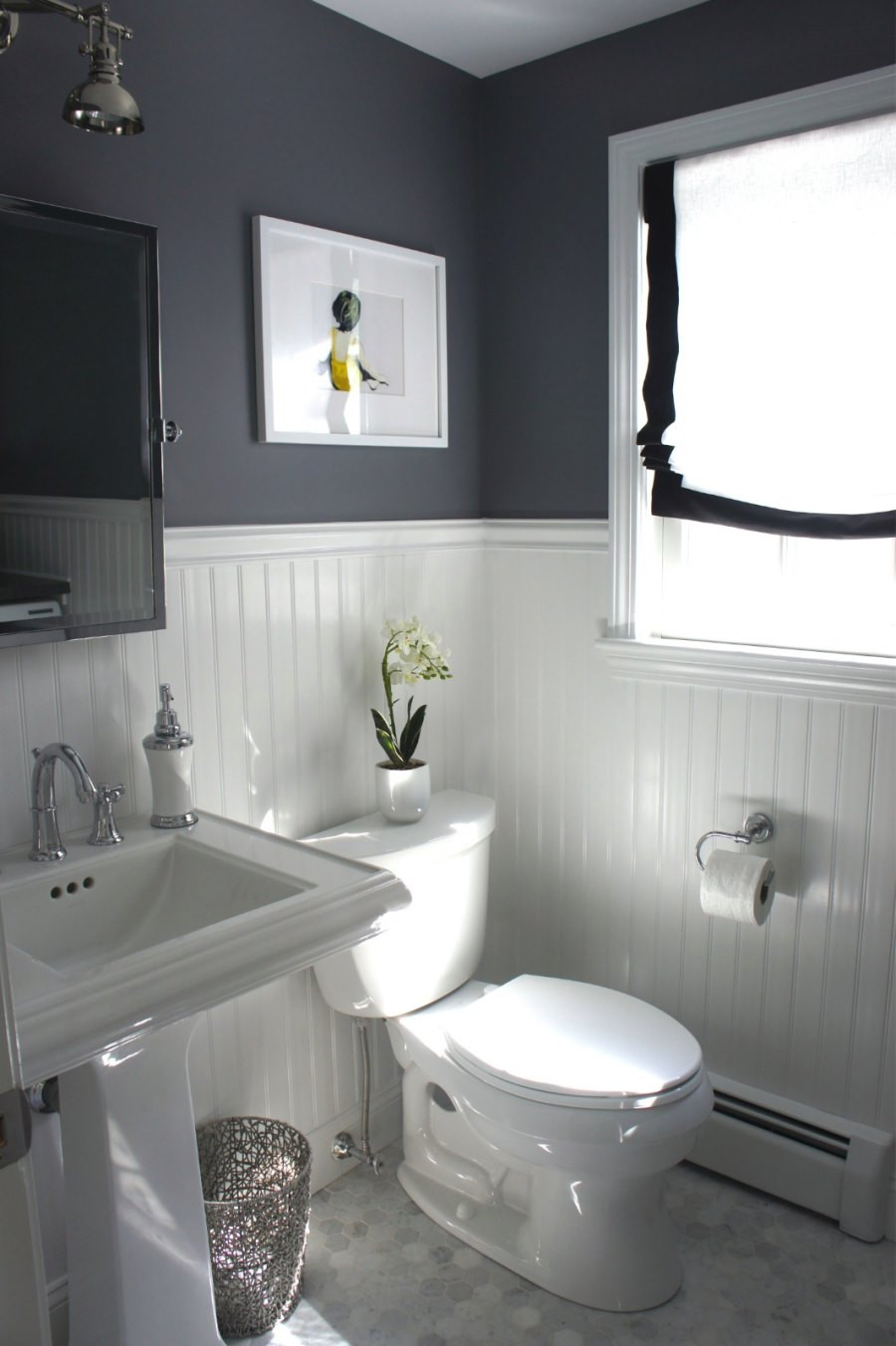 Wallboard For Bathroom  10 Rooms Featuring Beadboard Paneling