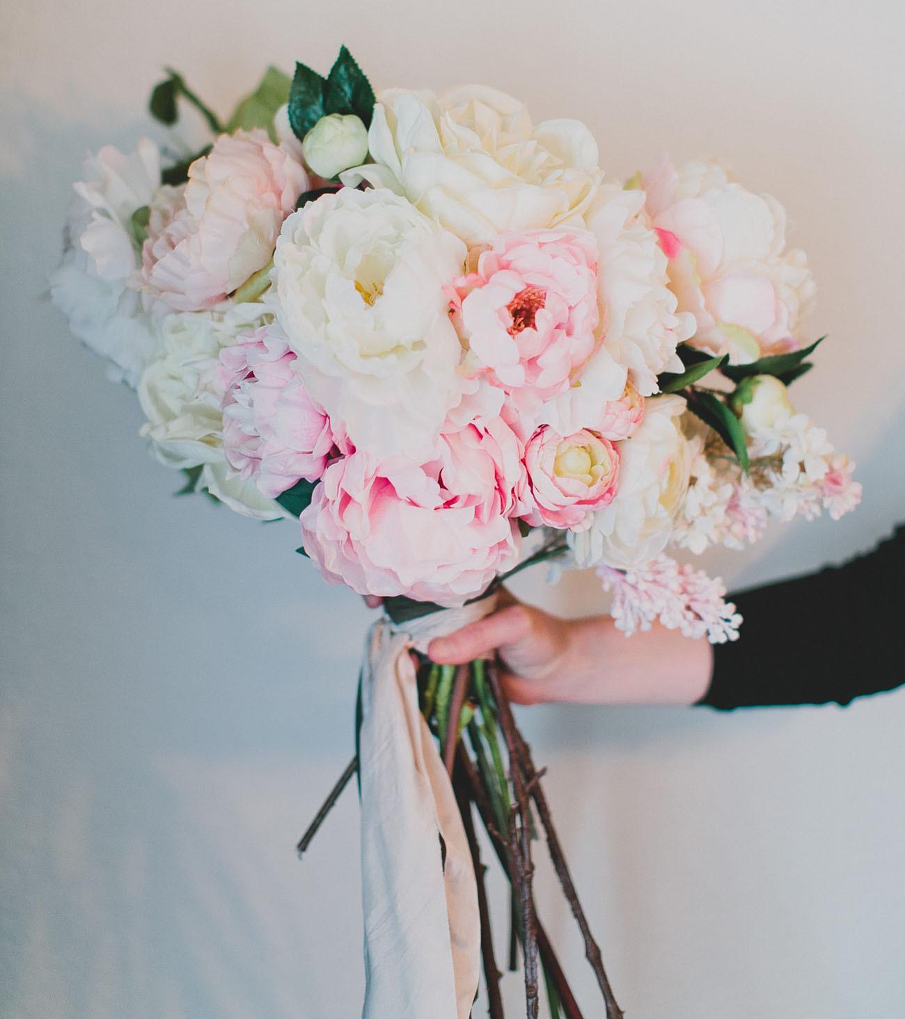 Wedding Bouquets DIY  DIY Silk Flower Bouquet with Afloral