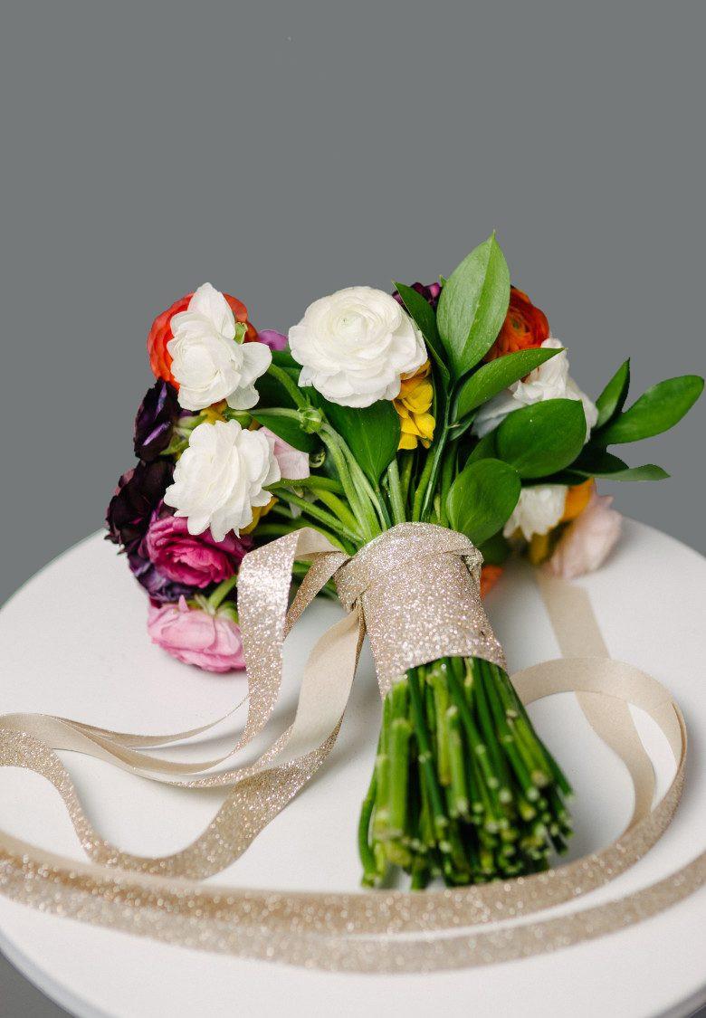 Wedding Bouquets DIY  How to Make a DIY Wedding Bouquet