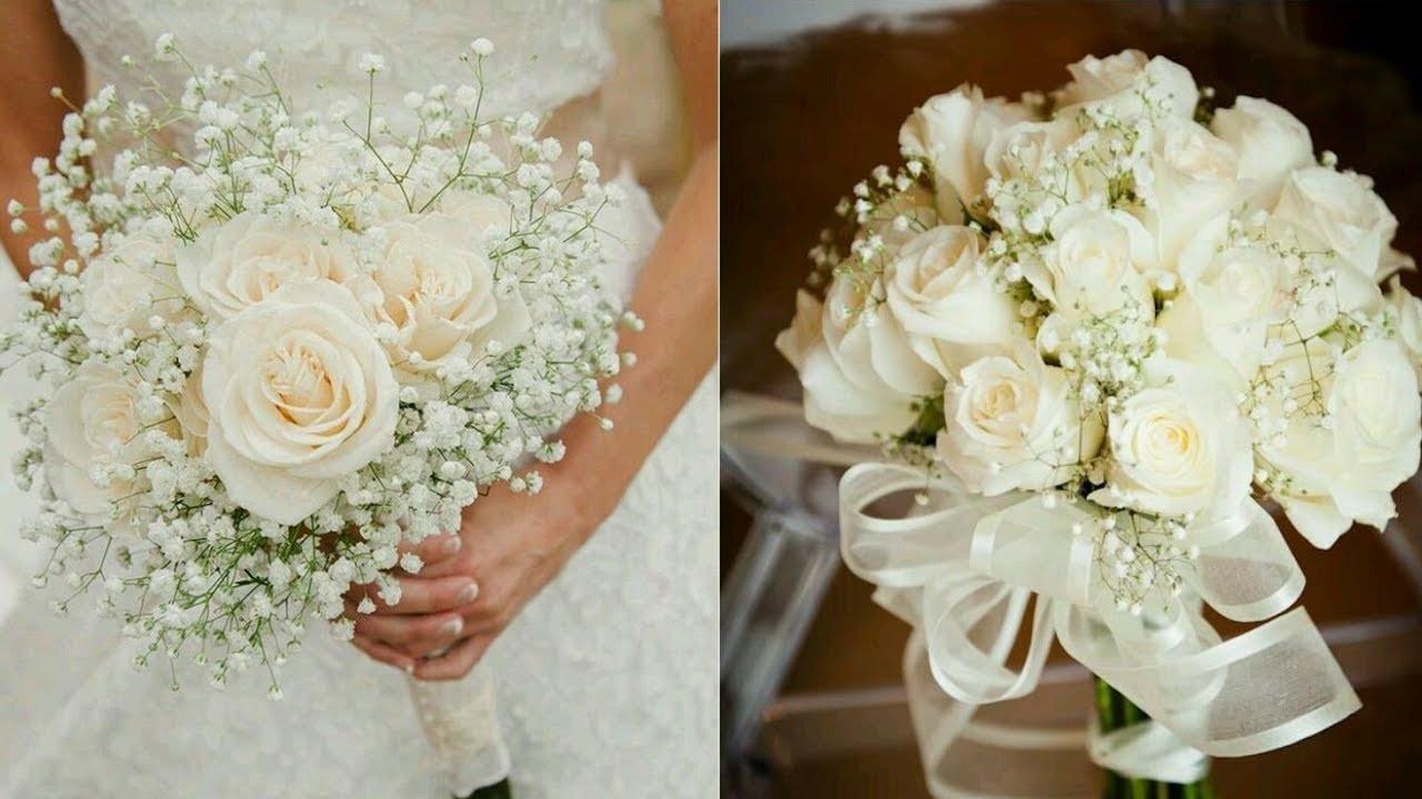Wedding Bouquets DIY  How to Arrange A Bridal Bouquet