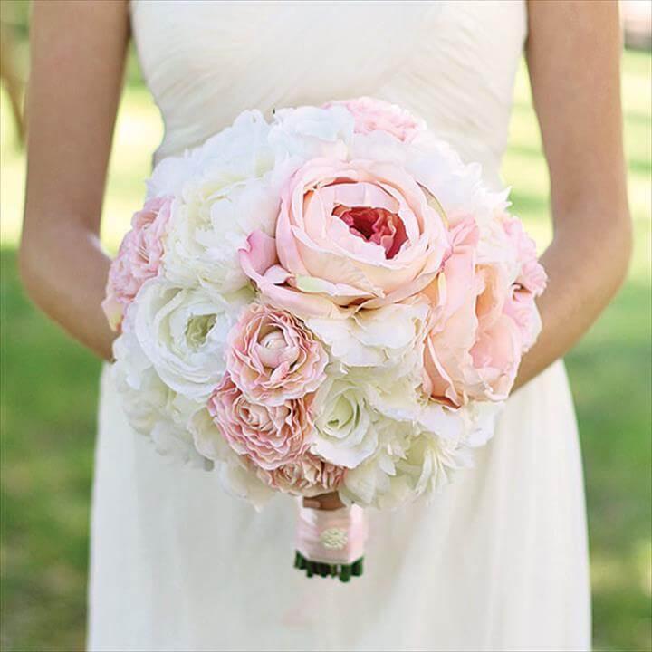 Wedding Bouquets DIY  21 Homemade Wedding Bouquet Ideas