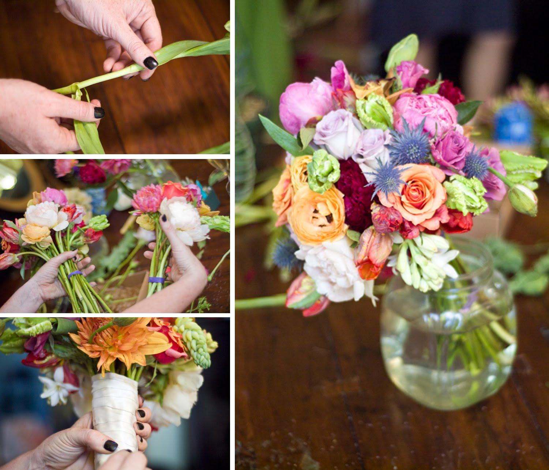 Wedding Bouquets DIY  The Artful Bride Wedding Blog DIY Bridal Bouquet