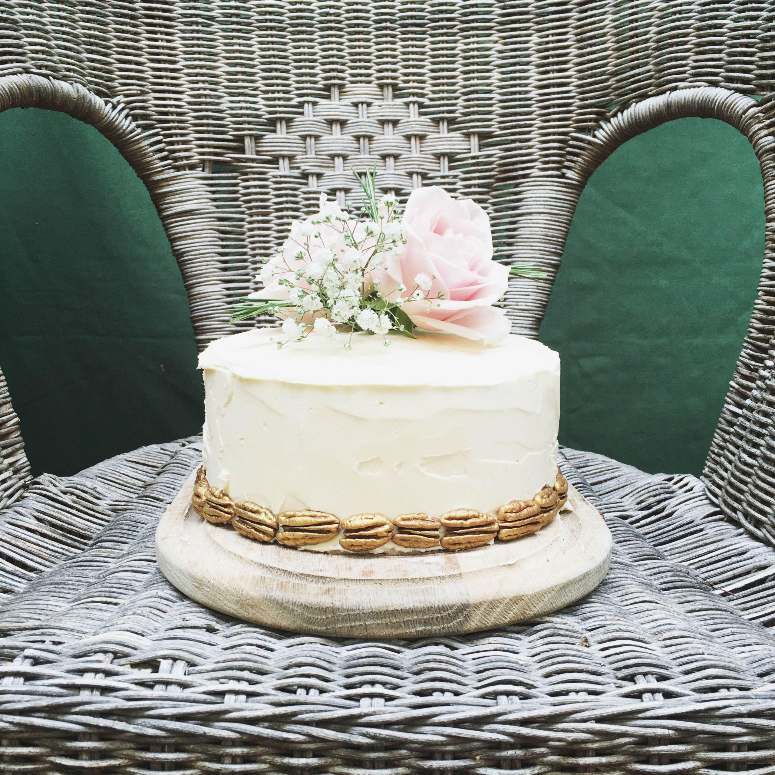 Wedding Cakes Simple  Simple Wedding Cake – Interior Vine