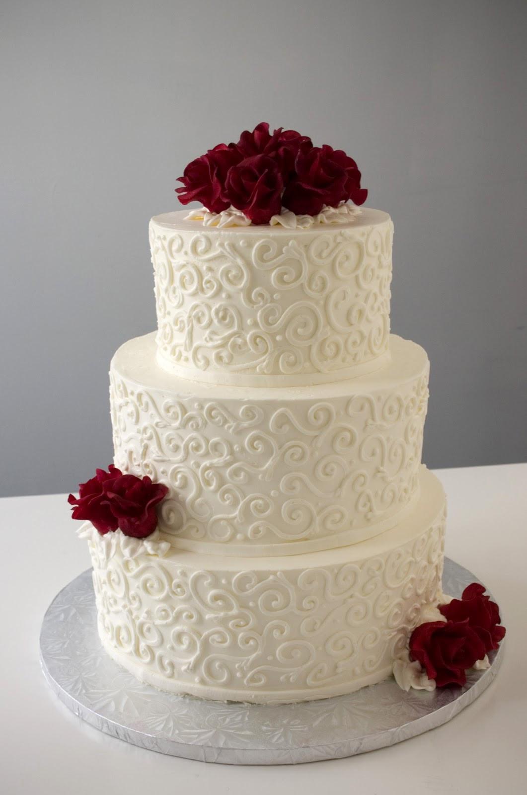 Wedding Cakes Simple  A Simple Cake Customizing A Simple Cake