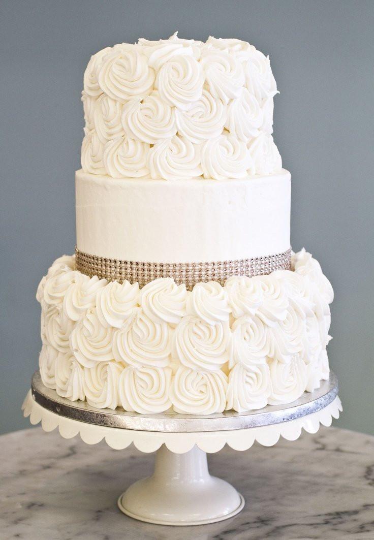 Wedding Cakes Simple  Simple Wedding Cake Wedding and Bridal Inspiration