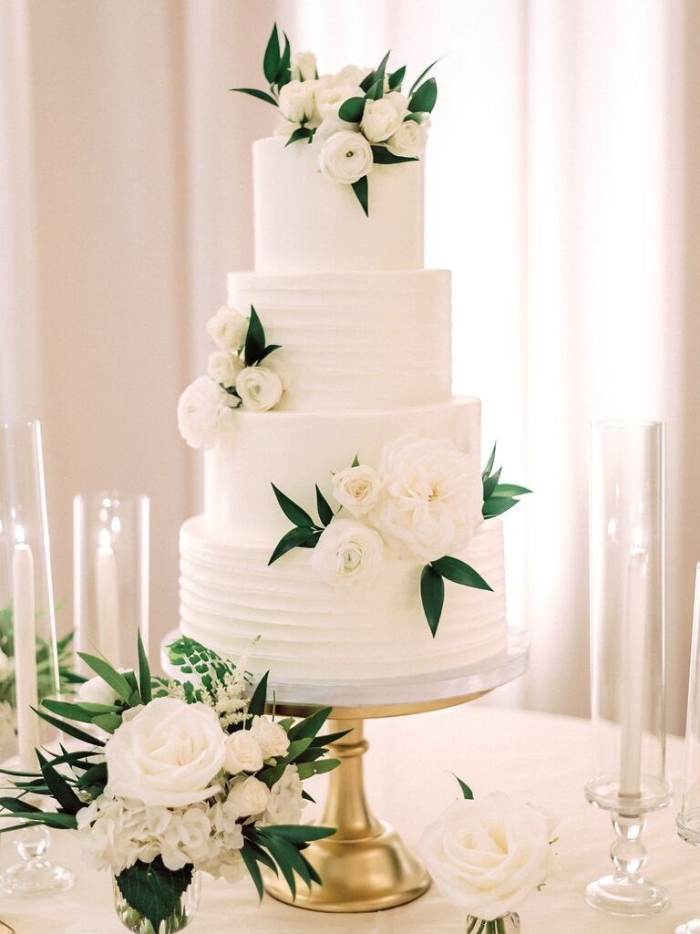 Wedding Cakes Simple  The Most Elegant Wedding Cakes We ve Ever Seen