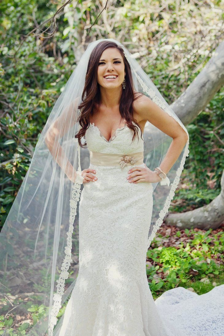 Wedding Veils With Long Hair  Wedding Hairstyles With Veil Pinterest