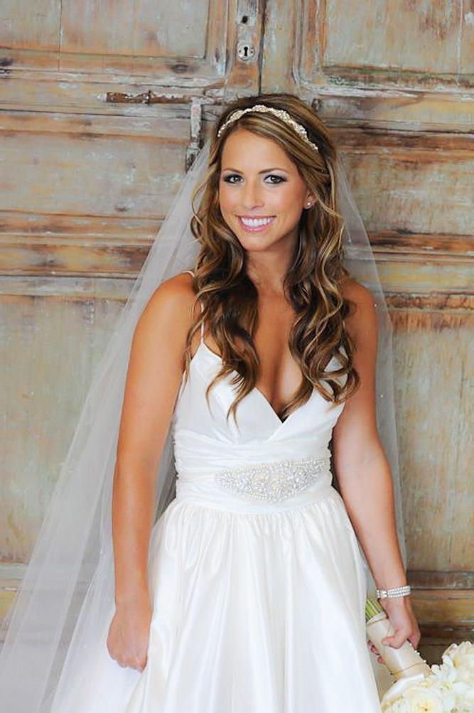 Wedding Veils With Long Hair  15 of Long Hairstyles Veils Wedding