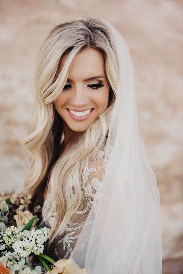 Wedding Veils With Long Hair  Top 8 wedding hairstyles for bridal veils