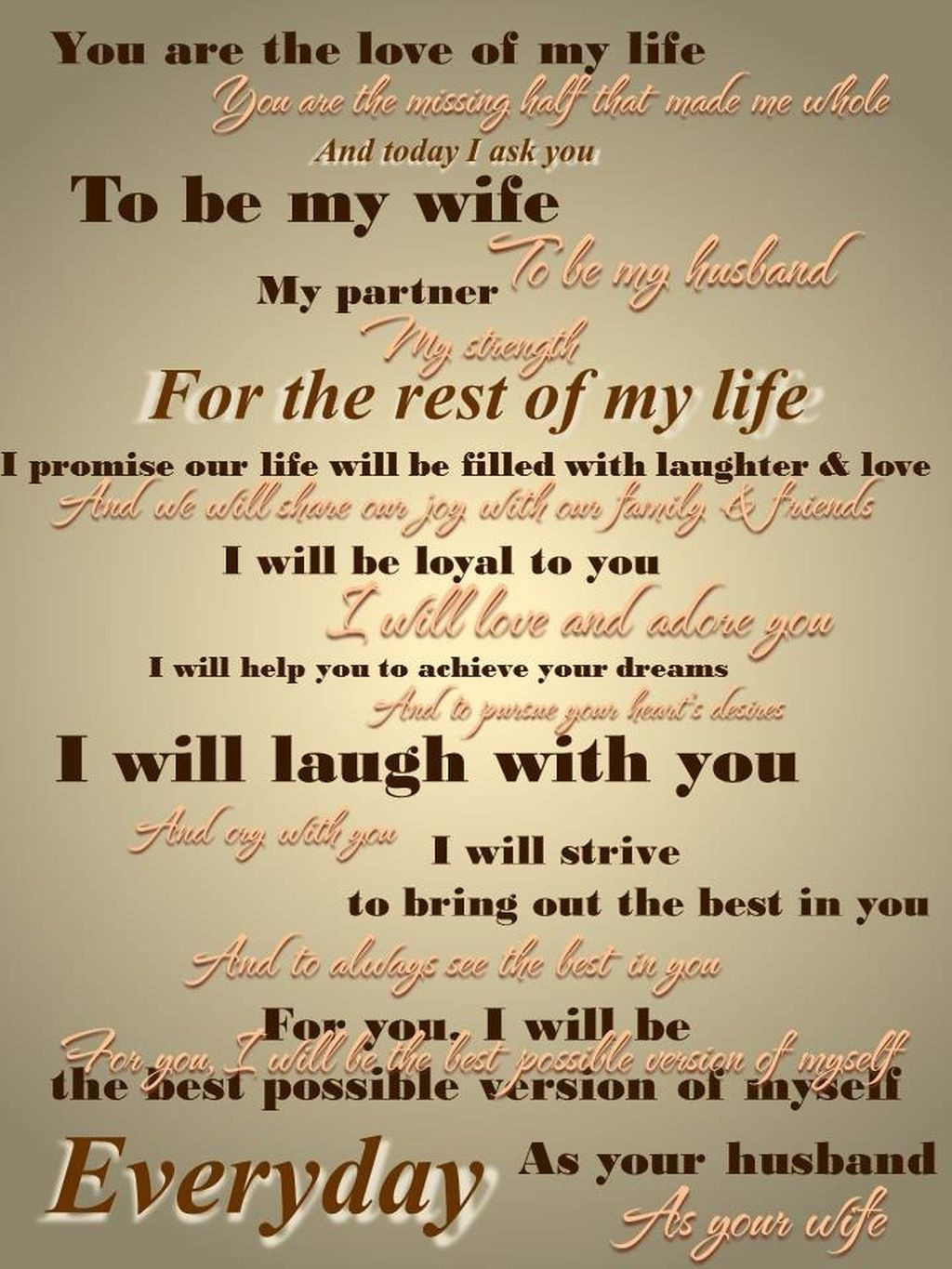 Wedding Vows For Him Funny  Funny Wedding Vows Make Your Guests Happy cry