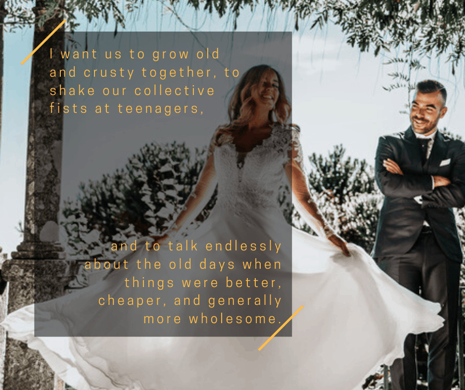 Wedding Vows For Him Funny  35 Non Traditional Wedding Vows And Writing Tips For Him & Her