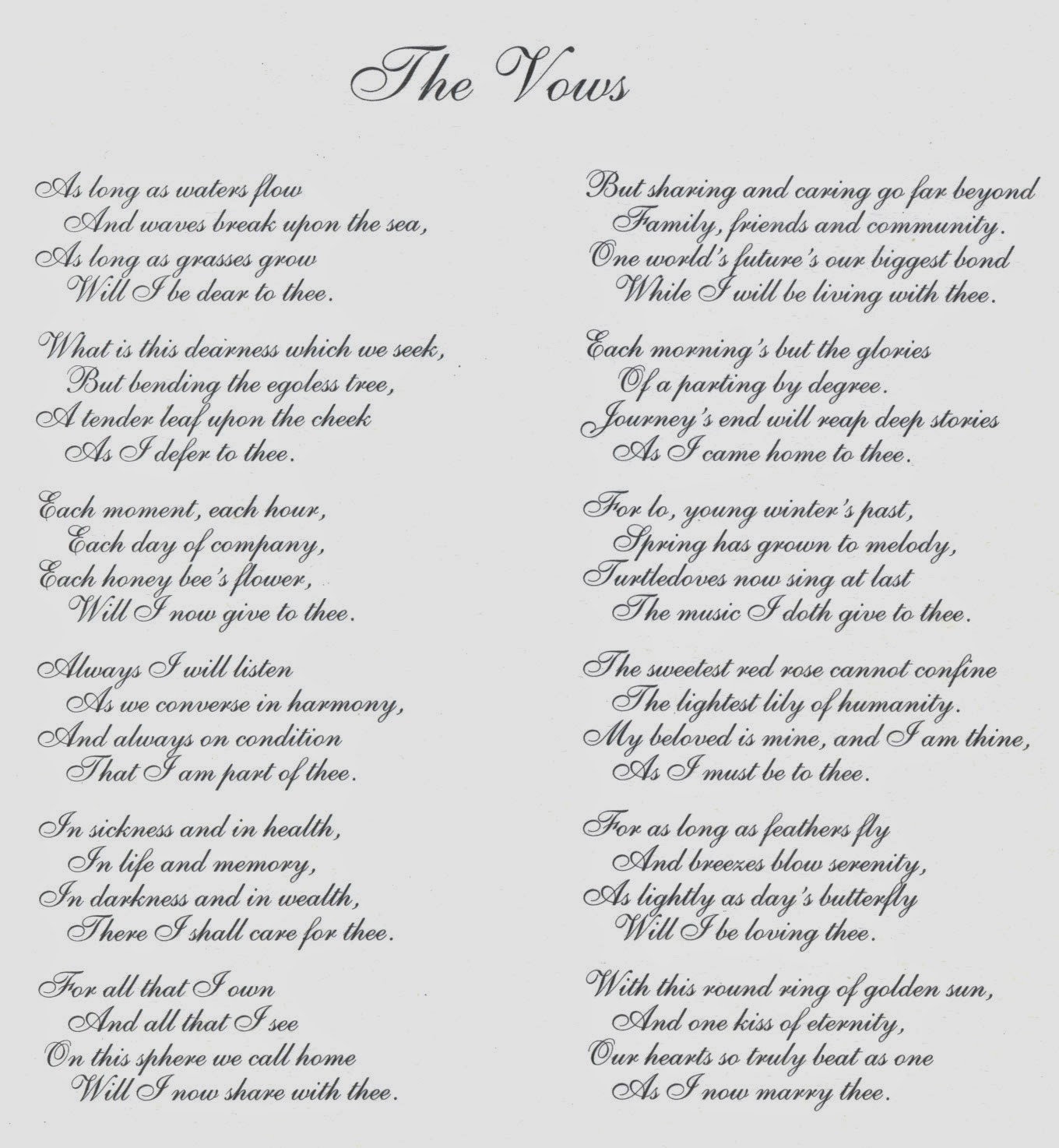 Wedding Vows For Him Funny  Others Beautiful Wedding Vows Samples Ideas — Salondegas