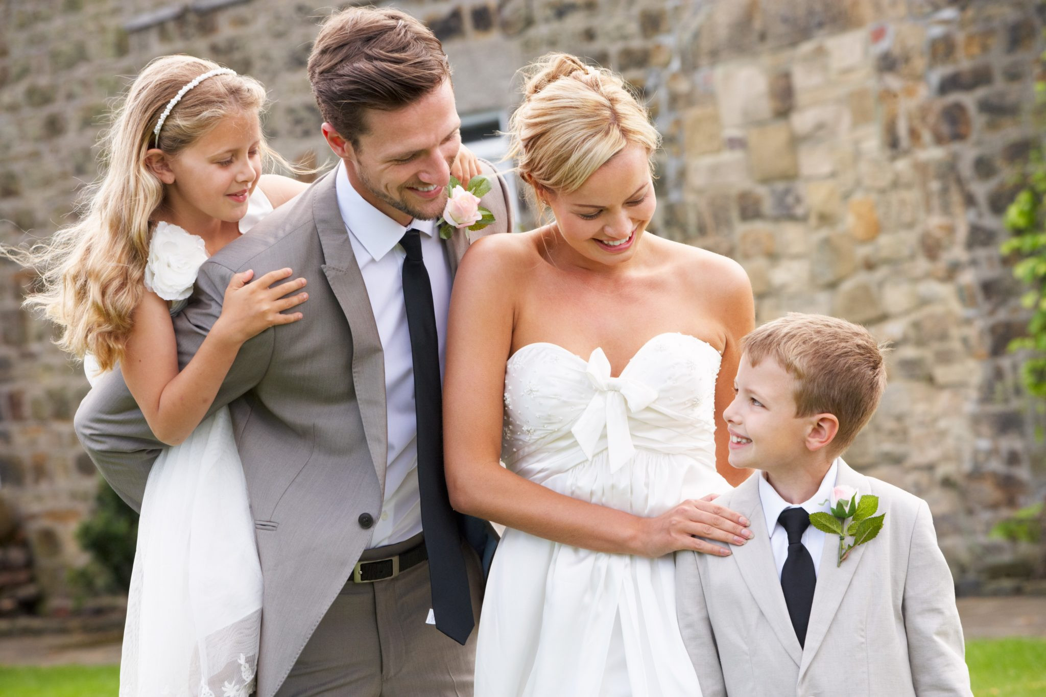 Wedding Vows With Children  VOWS TO YOUR NEW CHILDREN It s Never Too Late Marriage