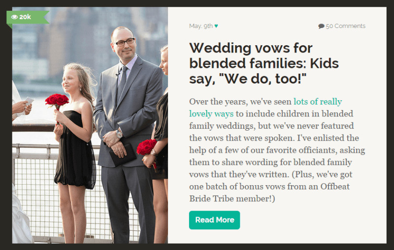 Wedding Vows With Children  Sweet wedding vows that include mating penguins and Broad