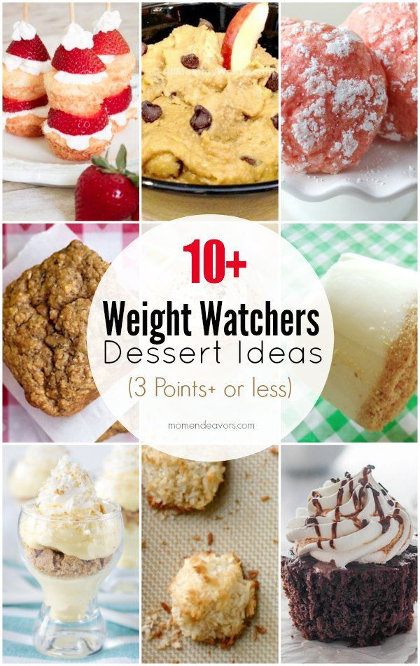 Weight Watchers Desserts Smart Points  Pin on Mom Endeavors