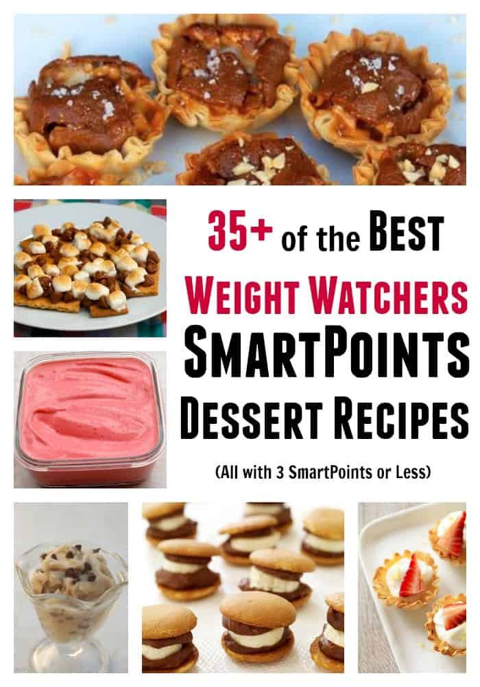 Weight Watchers Desserts Smart Points  35 Easy Desserts for Weight Watchers with 3 SmartPoints or