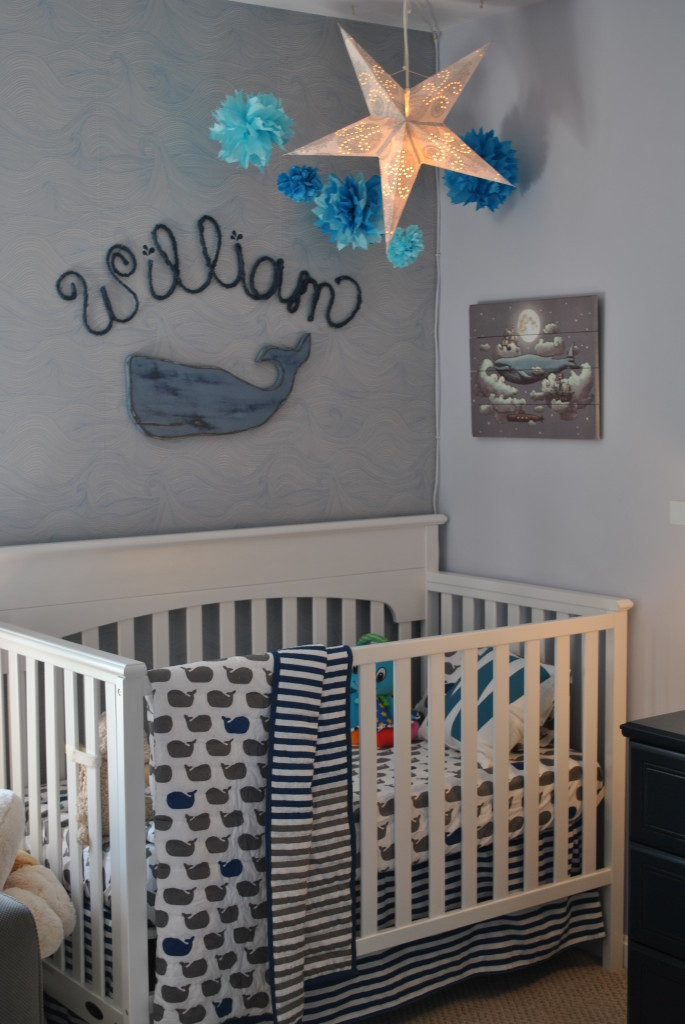 Whale Baby Decor  William s Whale Nursery Project Nursery