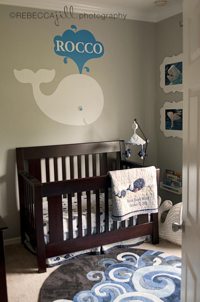 Whale Baby Decor  Rocco s Beluga Whale Nursery Project Nursery