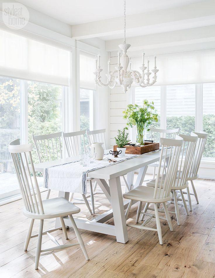 White Kitchen Bench  12 Best Antique White Kitchen Cabinets in Trending Design