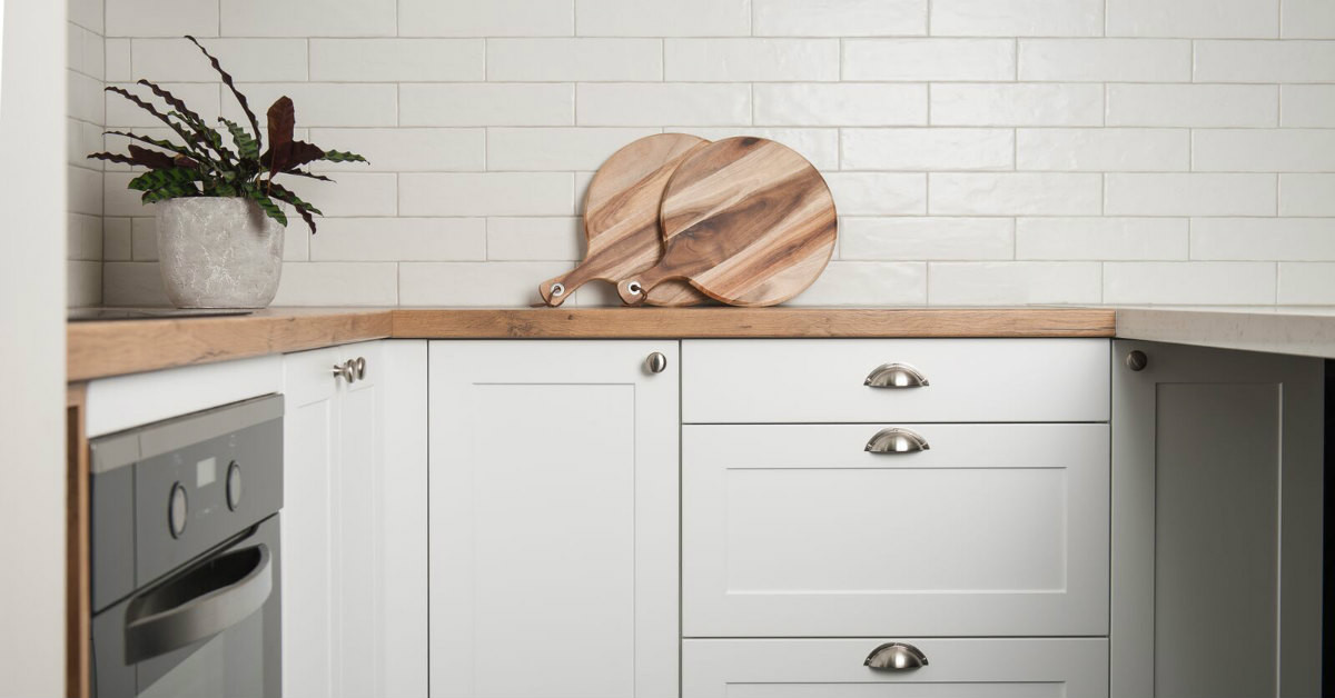 White Kitchen Bench  Traditional & Classic Kitchens in Melbourne