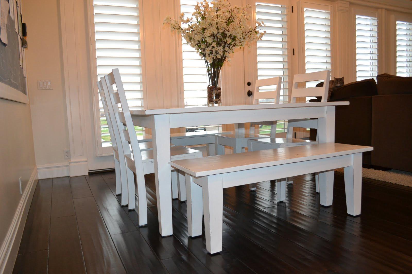 White Kitchen Bench  of Kitchen Design Ideas Remodel and Decor