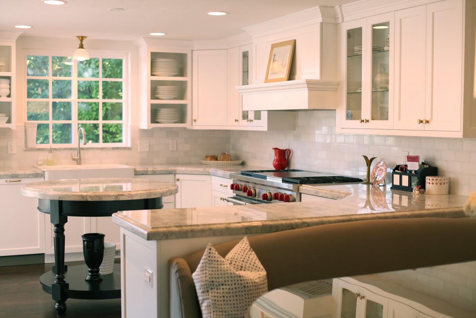 White Kitchen Bench  The Granite Gurus Whiteout Wednesday 5 White Kitchens