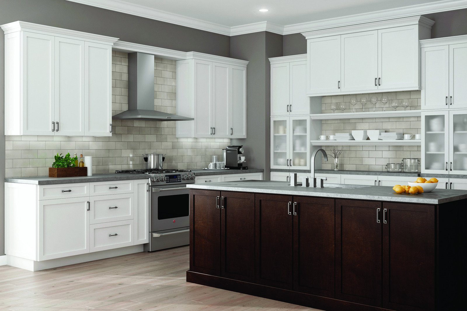 Wolf Kitchen Cabinets  OXFORD WOLF TRANSITION BJ Floors and Kitchens