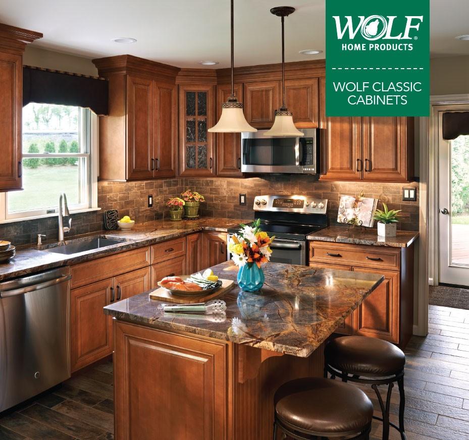 Wolf Kitchen Cabinets  Kitchen Cabinets Bison Bath and Kitchen Design