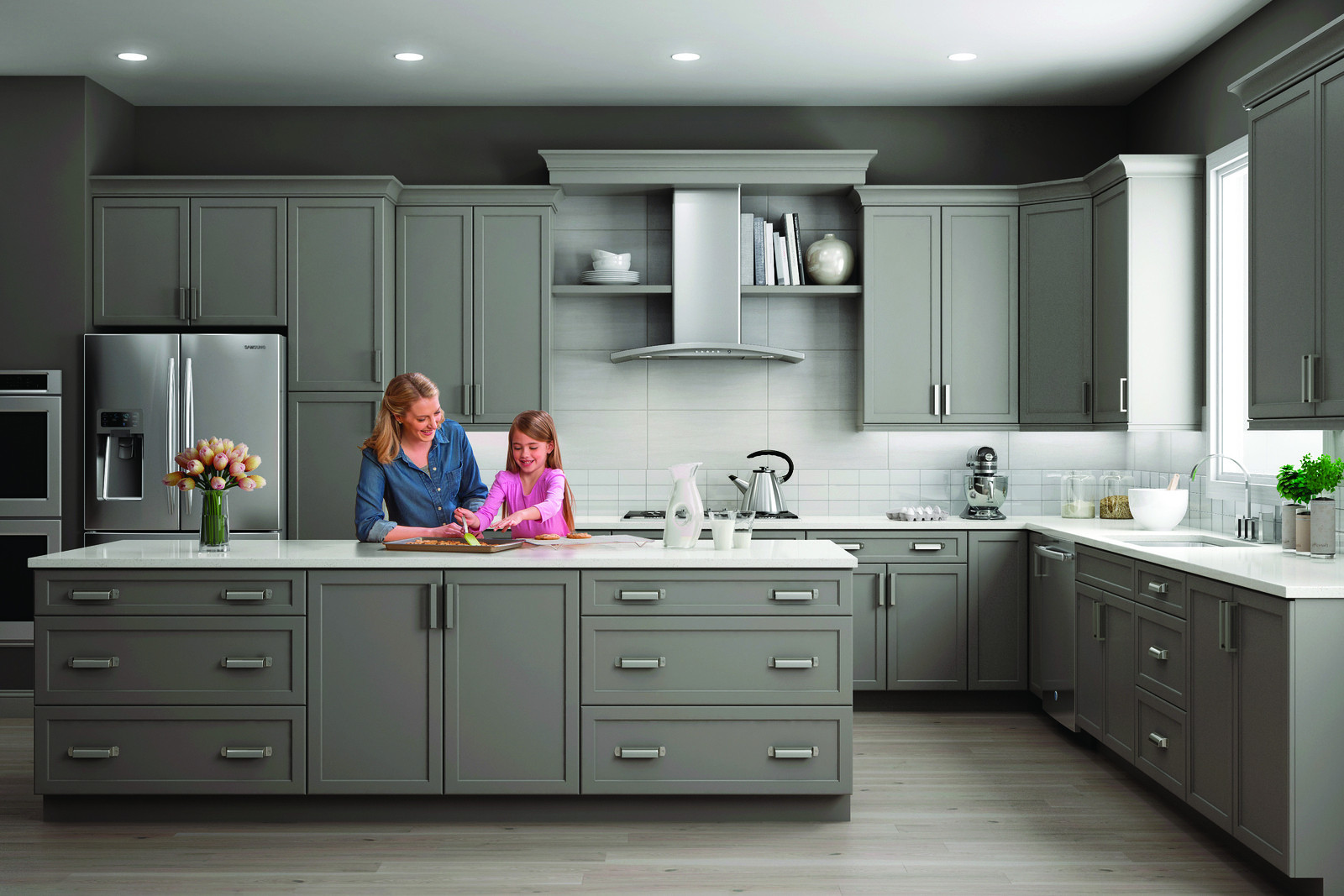 Wolf Kitchen Cabinets  HAVEN WOLF TRANSITION BJ Floors and Kitchens